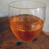 An Aperol spritz. Tasty stuff.