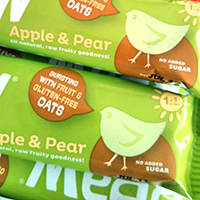 Brawbars apple and pear bars