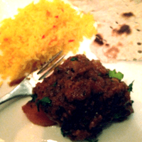 Lamb shatkora gets its citrussy hit from a Bengali fruit