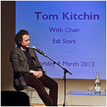 Tom Kitchin shares his inspirations at the National Library of Scotland