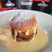 Scone and butter pudding at a Room in Leith. Genius!
