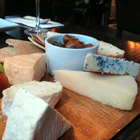 A cheese board worth boasting about at The Magnum, Edinburgh.