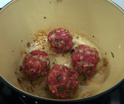 amb meatballs ready to cook