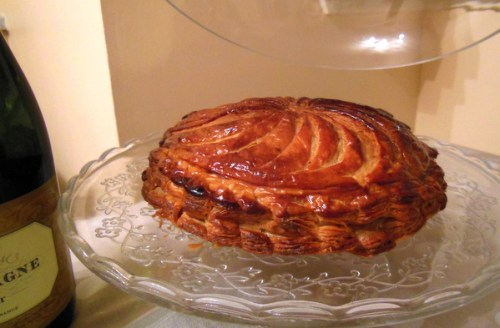 My home baked Galette des Rois