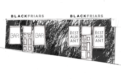 Blackfriars Street illustration