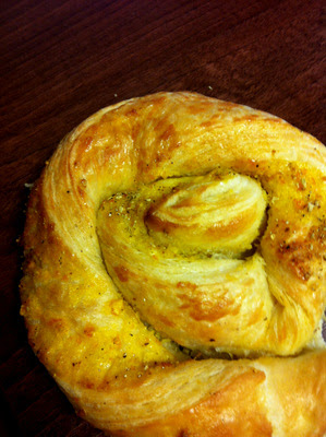 Orange cardamom twists