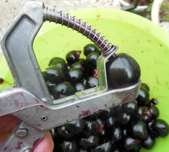 Such a useful gadget - a cherry/olive stoner