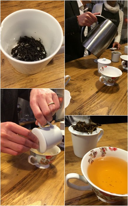 Making a very special cup of Scottish Tea