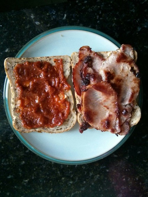 Good way to spice up a bacon sandwich