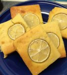 The lime gives the cornbread a real zing