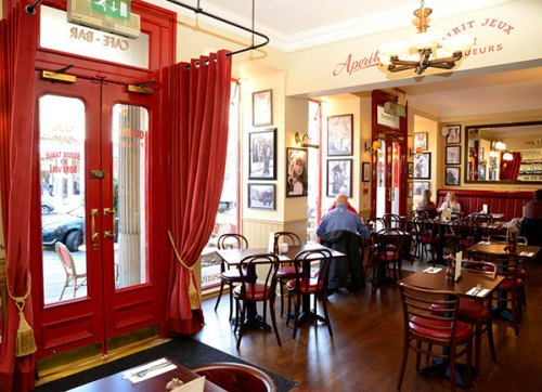 Café Rouge Edinburgh interior