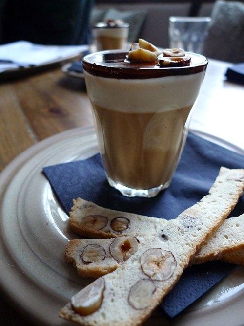 Espresso panna cotta at Scran & Scallie.