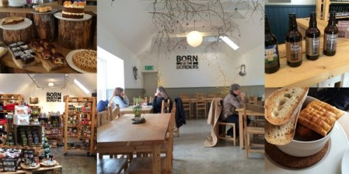 Good food and drink at Born in the Borders