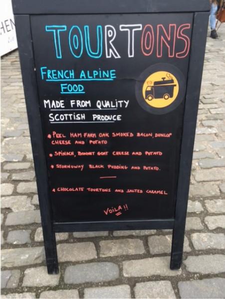 Tourtons French Alpine Food