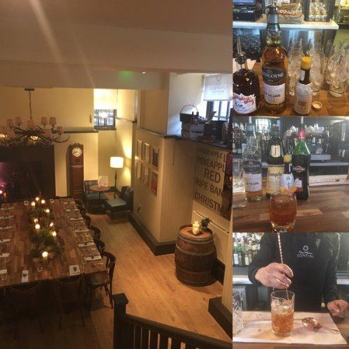 The new Glengoyne Room at Cannonball Restaurant & Bar