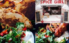 Great street food is on offer Umami Spice Girl in Assembly George Square Gardens