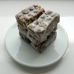 Naturally sweet: date, nut and licorice snack bars