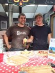 Pizza Geeks in action at Boxsmall Market
