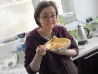 Trifle: breakfast of champions!