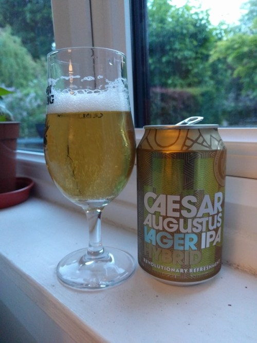 Caesar Augustus lager/IPA hybrid by Williams Brothers