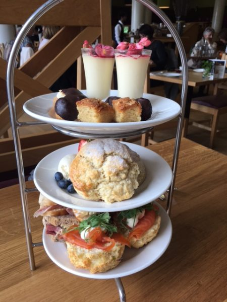 Afternoon tea at the Scottish Cafe at the Scottish National Galleries