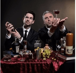 The Thinking Drinkers: History of Alcohol - just one of the many Fringe shows about food and drink
