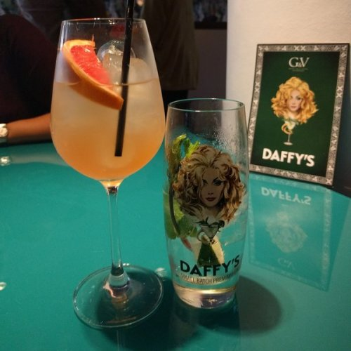 Daffy's gin cocktails at the G&V Hotel