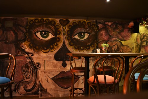 The party den at the newly launched Diablo Loco on South Clerk Street