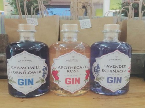 The Old Curiosity Gins from the Secret Herb Garden