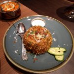 Chicken Biryani at Passage to India