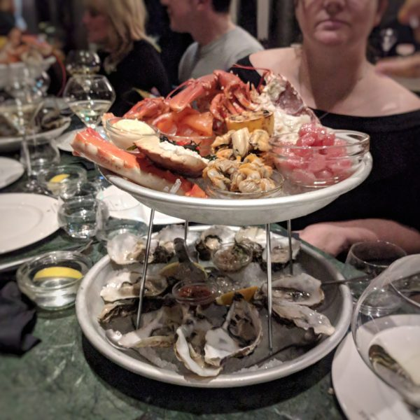 The full house seafood platter. Getting hungry?