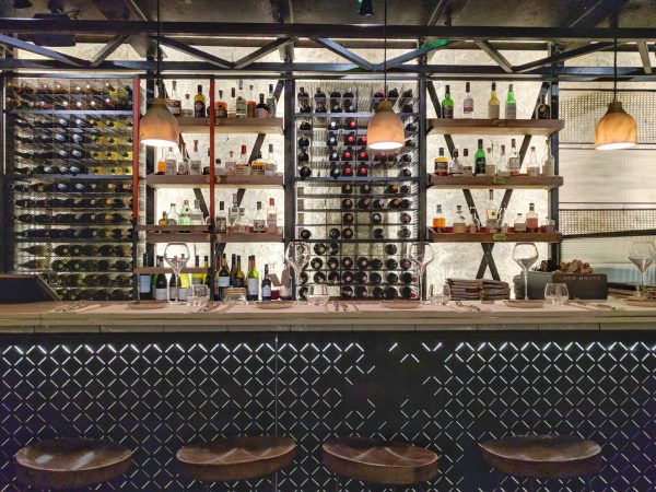 The bar: imagine what you can make with all that.