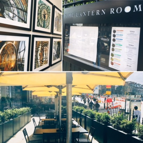 The Lantern Room - The hotel's Baxter's Place address was once home to Robert Stevenson, the famous Scottish lighthouse engineer and the grandfather of 'Treasure Island' author Robert Louis Stevenson