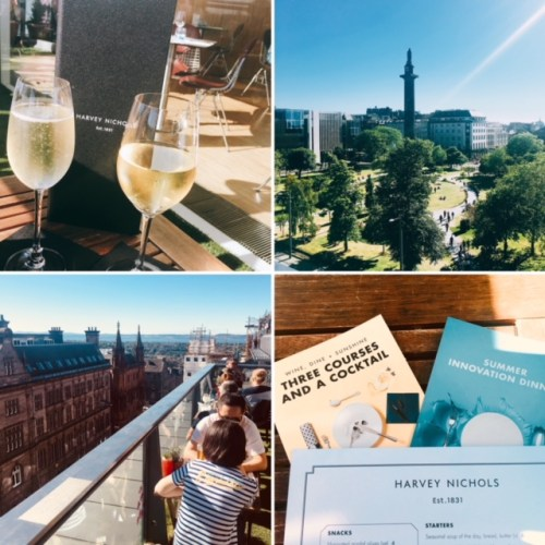 Dining with a view - Harvey Nichols' Secret Herb Garden Gin Terrace