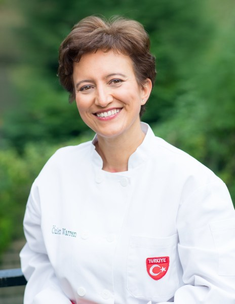 Enjoy afternoon tea at the Book Festival with Ozlem Warren