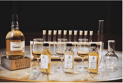 The Secret to Blending Whisky with Wemyss Malts