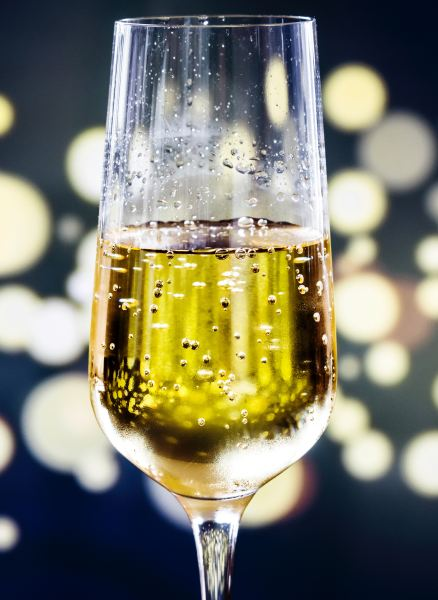 Champagne with food is one of life's true delights
