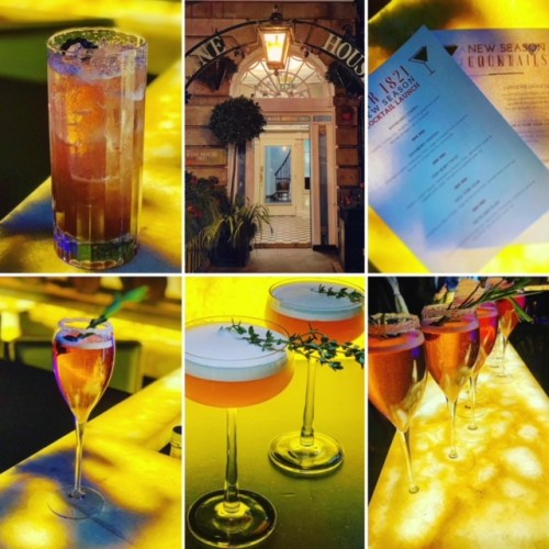 Sampling Bar 1821's new season cocktails - photos courtesy of 'Isaac of The Social Bitches'