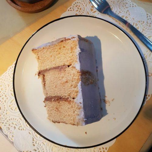 Cake! Caroline's spanakopita features on Instagram.