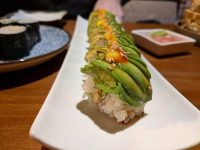 Marillo roll - as pretty as a picture and very tasty too.