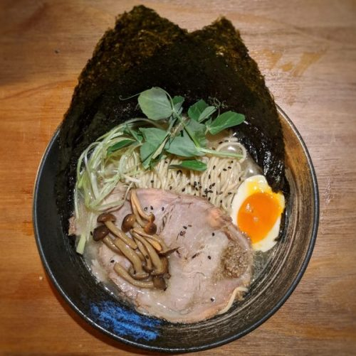 Truffle ramen: filling, warming, satisfying.