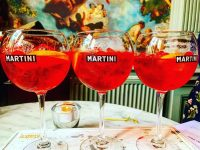 Head to Contini to try the new Martini Fiero Spritz - it's the perfect summer drink