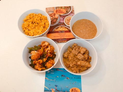 Super tasty - Our attempt at the Goan box looks very similar to the real thing