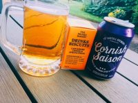 Cornish Saison beer paired with Drinks Biscuits Lancashire Cheese & Spring Onion
