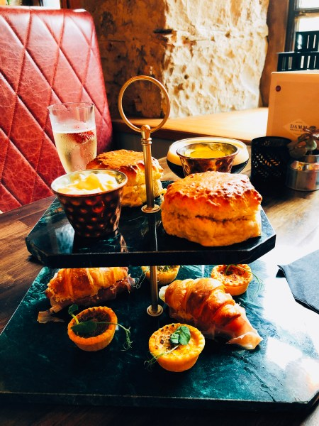 Damm27's afternoon tea doesn't disappoint and there's a great mix of savoury and sweet options