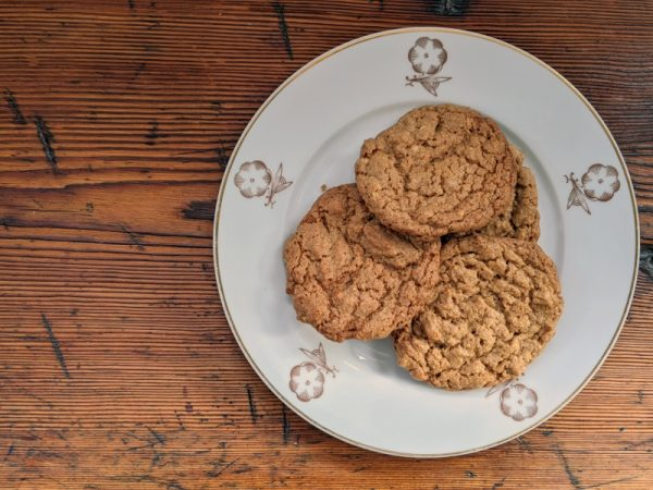 Peanut butter biscuits – baking and eating to soothe the soul