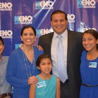 Edinburg attorney Keno Vásquez secures Democratic Party nomination, and with no GOP opponent, set to become judge of 398th District Court in Hidalgo County on January 1, 2017
