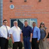 Edinburg construction approaches $132 million for the first half of 2016 as city, Edinburg EDC open U.S. Customs service at regional airport