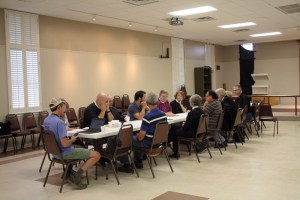 St Margaret Clergy meeting