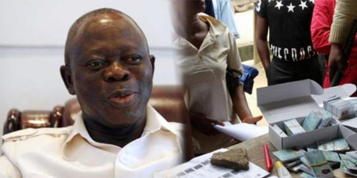 Oshiomhole accuses PDP of buying PVCs